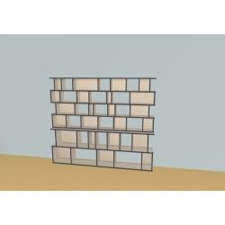 Bookshelf (H173cm - W225 cm)