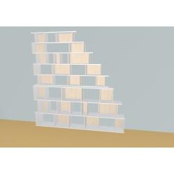 Bibliothèque (H239cm - L257 cm)