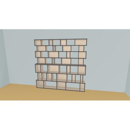 Bookshelf (H212cm - W240 cm)