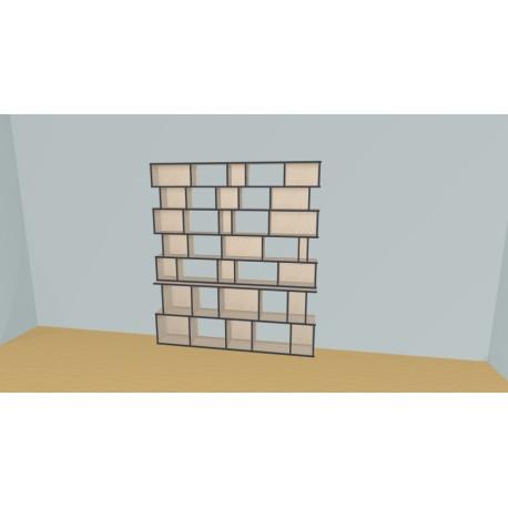 Bookshelf (H203cm - W200 cm)