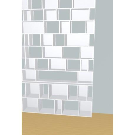Bibliothèque (H257cm - L163 cm)