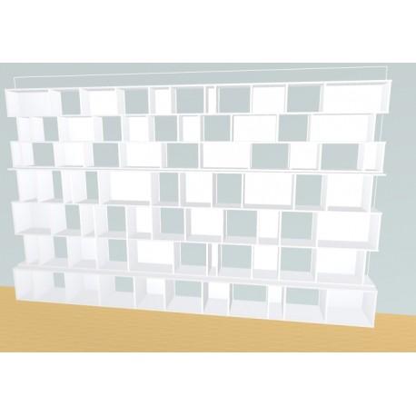 Bookshelf (H229cm - W380 cm)