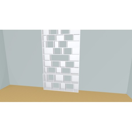 Bibliothèque (H257cm - L171 cm)