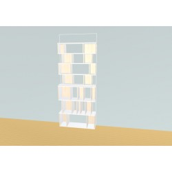 Bibliotheek (H212cm - B105 cm)