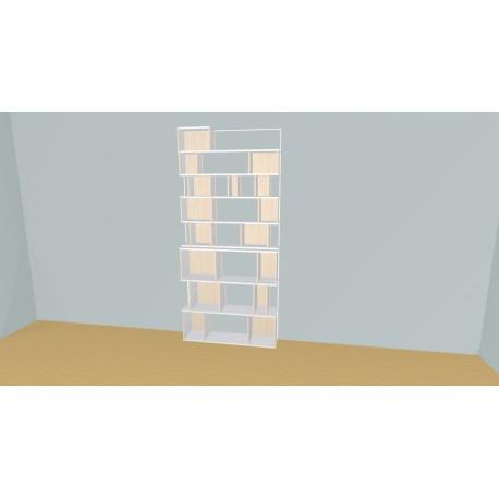 Bibliothèque (H236cm - L120 cm)