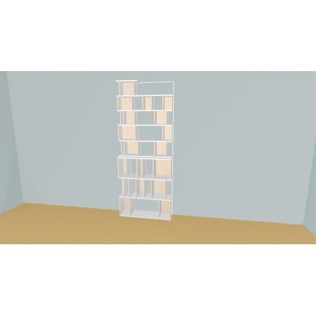Bibliothèque (H236cm - L105 cm)