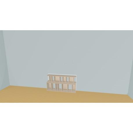 Bibliothèque (H66cm - L140 cm)