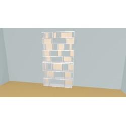 Bibliothèque (H236cm - L150 cm)