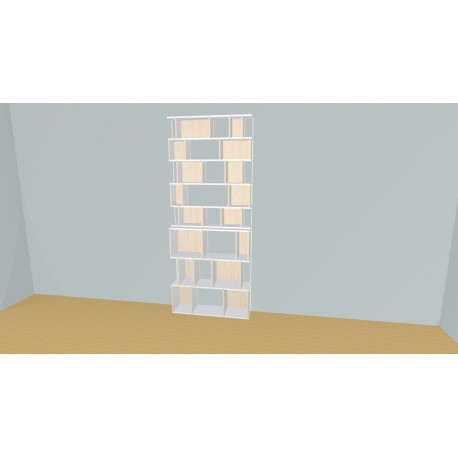 Bookshelf (H236cm - W108 cm)