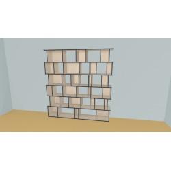 Bookshelf (H217cm - W229 cm)
