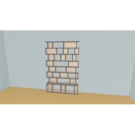 Bookshelf (H209cm - W150 cm)