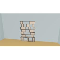 Bookshelf (H185cm - W150 cm)