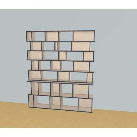 Bibliothèque (H200cm - L189 cm)