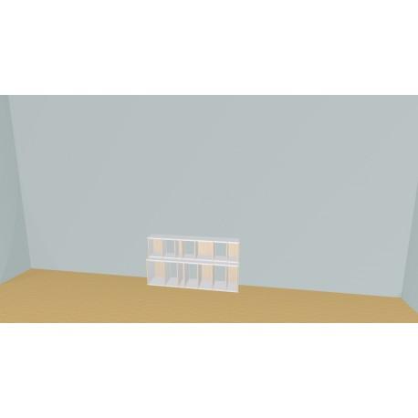 Bibliotheek (H66cm - B140 cm)