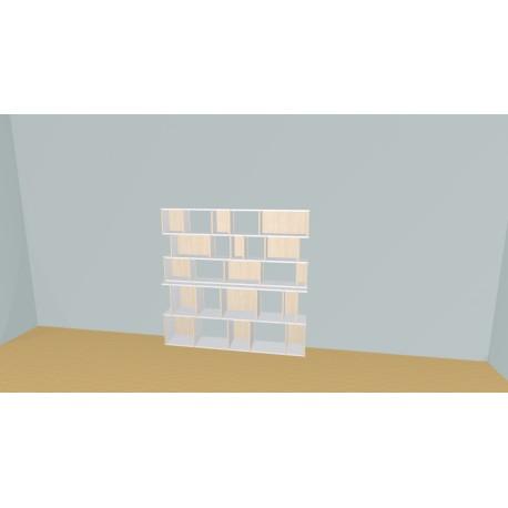 Bibliothèque (H156cm - L178 cm)