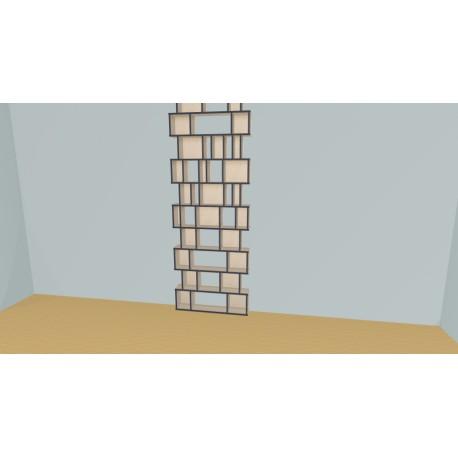 Bookshelf (H264cm - W104 cm)