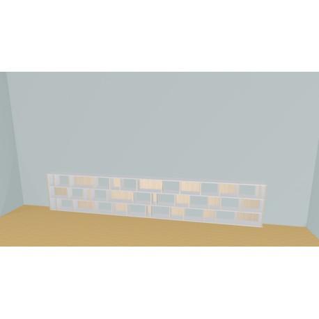 Bookshelf (H73cm - W436 cm)