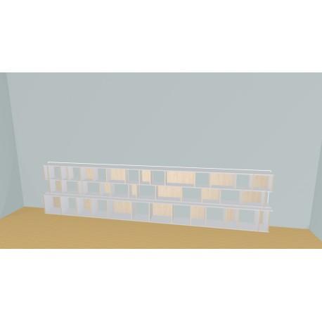 Bibliotheek (H93cm - B449 cm)