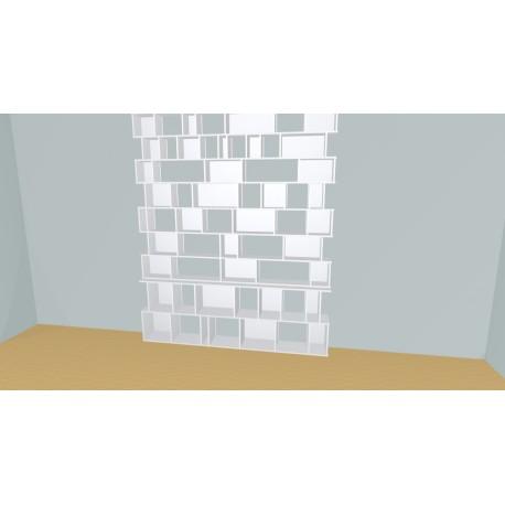 Bookshelf (H254cm - W236 cm)