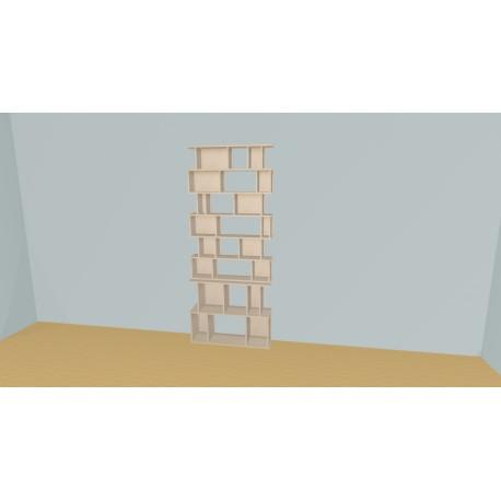 Bookshelf (H218cm - W101 cm)