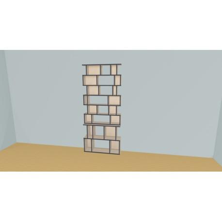 Bibliothèque (H218cm - L104 cm)