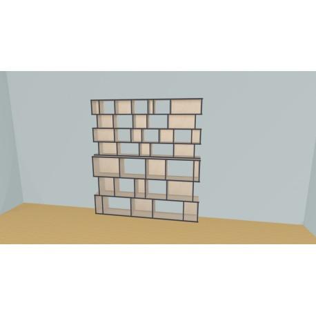 Bibliothèque (H206cm - L210 cm)