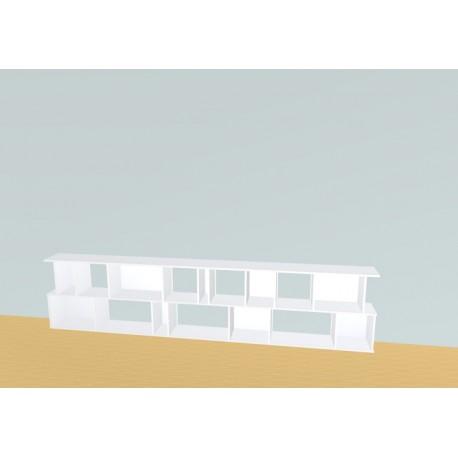 Bibliotheek (H73cm - B320 cm)