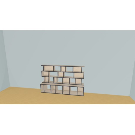 Bibliotheek (H114cm - B200 cm)