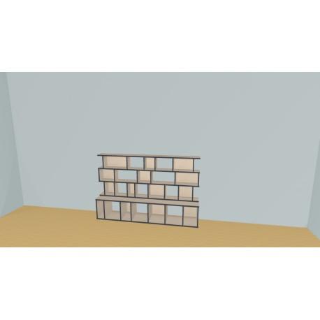 Bookshelf (H114cm - W200 cm)