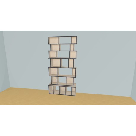 Bookshelf (H229cm - W124 cm)