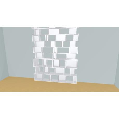 Bookshelf (H272cm - W230 cm)
