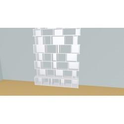 Bibliothèque (H274cm - L199 cm)