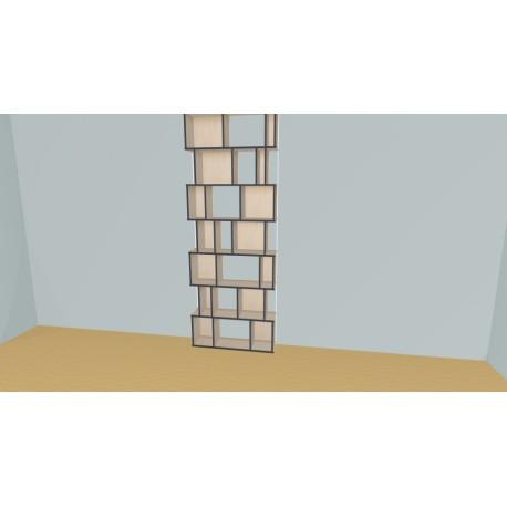 Bookshelf (H252cm - W104 cm)