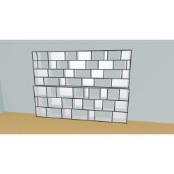 Bookshelf (H218cm - W303 cm)
