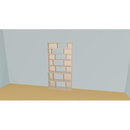 Bibliothèque (H200cm - L115 cm)