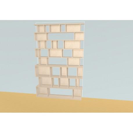 Bookshelf (H239cm - W156 cm)