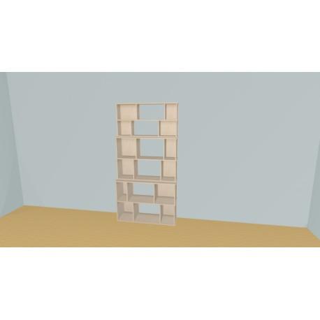 Bibliotheek (H202cm - B115 cm)