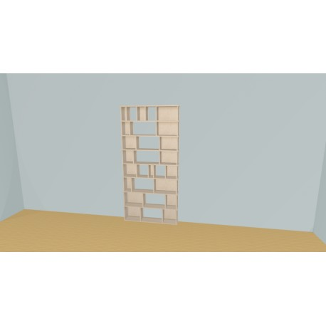 Bookshelf (H201cm - W107 cm)