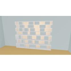 Bookshelf (H212cm - W315 cm)