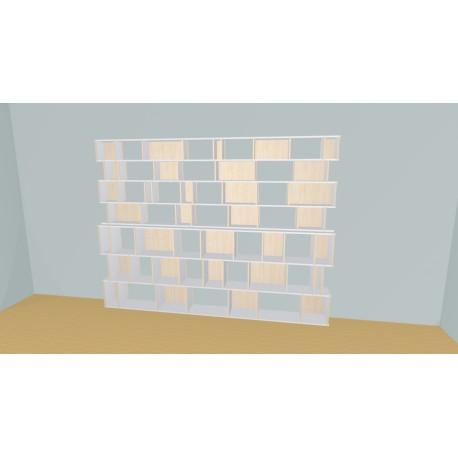 Bibliothèque (H212cm - L315 cm)