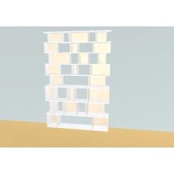 Bibliothèque (H239cm - L160 cm)