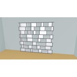 Bookshelf (H216cm - W271 cm)
