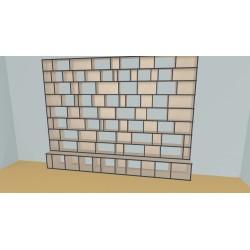 Bookshelf (H248cm - W361 cm)