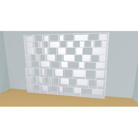 Bookshelf (H239cm - W360 cm)