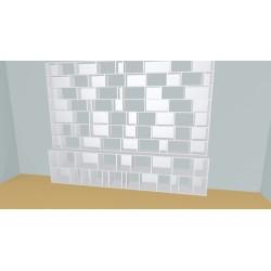 Bookshelf (H251cm - W360 cm)