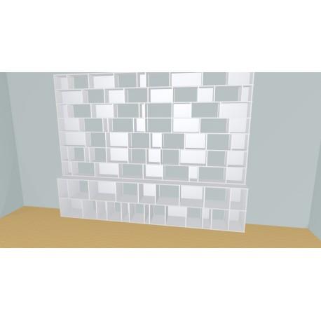 Bibliothèque (H251cm - L360 cm)