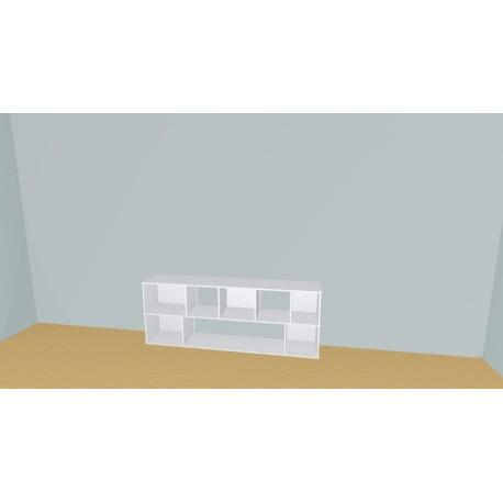 Bookshelf (H73cm - W217 cm)