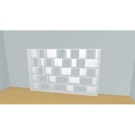 Bookshelf (H181cm - W320 cm)