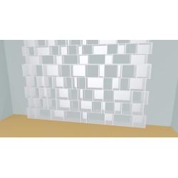 Bookshelf (H334cm - W424 cm)