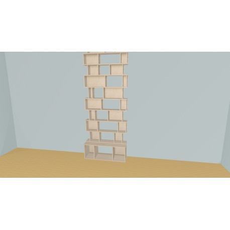 Bookshelf (H272cm - W113 cm)